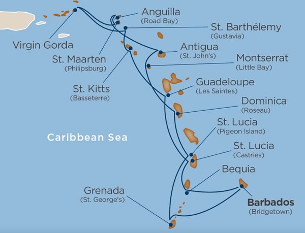 Windstar - Caribbean Explorations
