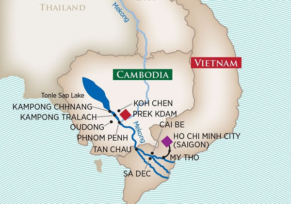 AmaWaterways - Charms of the Mekong