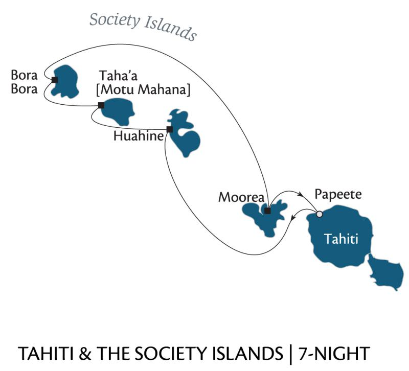 Paul Gauguin Cruises - Tahiti & the Society Islands