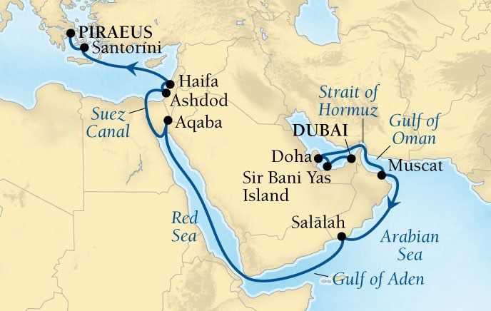 Seabourn - Arabia & Antiquities