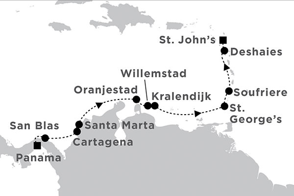 Star Clippers - Panama Canal