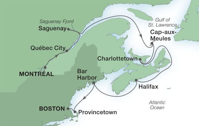 Seabourn - New England & Canadian Maritimes