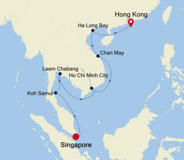 Silversea - South East Asia