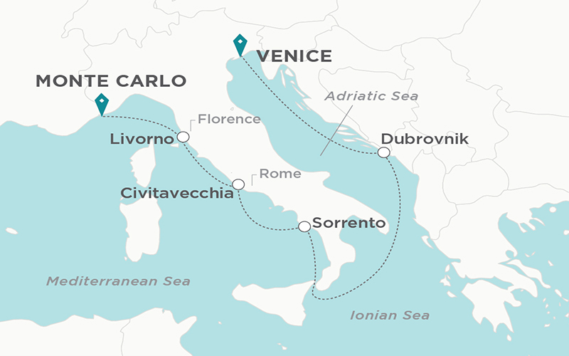 Crystal Cruises - Icons of the Mediterranean
